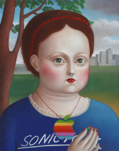 Amy Hill, 'Girl With Pill'