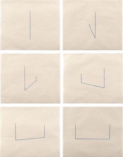 Fred Sandback, 'Untitled (J. 22-27)', 1976