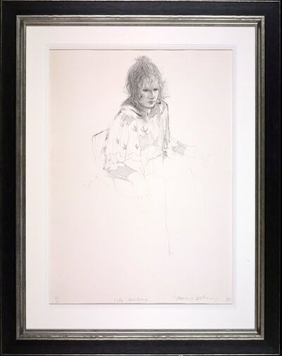 David Hockney, 'Celia Smoking', 1973