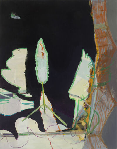 Dorothee Kreutzfeldt, 'Cypress stand for the floating world', 2018