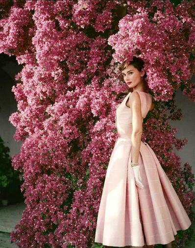 Norman Parkinson, 'Audrey Hepburn with Flowers', 1955