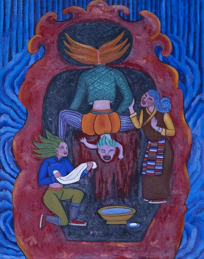 Tsering Drolma 次仁卓玛, 'Birth, Ageing, Illness, and Death 3 · The First Cry of the Newborn Baby《生老病死系列3 -- 一声婴啼》', 2013