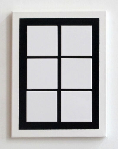 John Nixon, 'Untitled (Window)', 2017