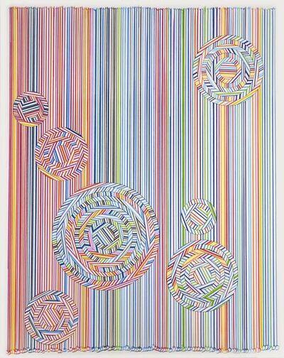 Hadieh Shafie, 'Draw / Cut / Rotate 6', 2019
