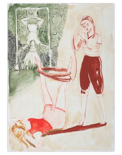 Rosa Loy, 'Turnen & Stricken', 2018