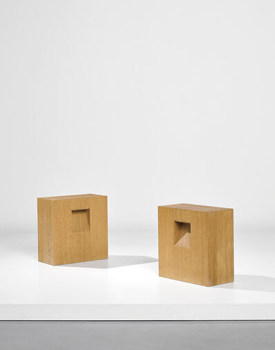 Konstantin Grcic, 'Pair of stools, designed for the 'Missing Object' exhibition, Galerie kreo, Paris', 2004