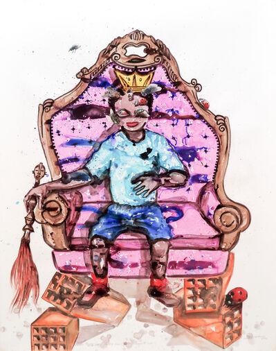 Steve Bandoma, 'Daddy's falling trone', 2015