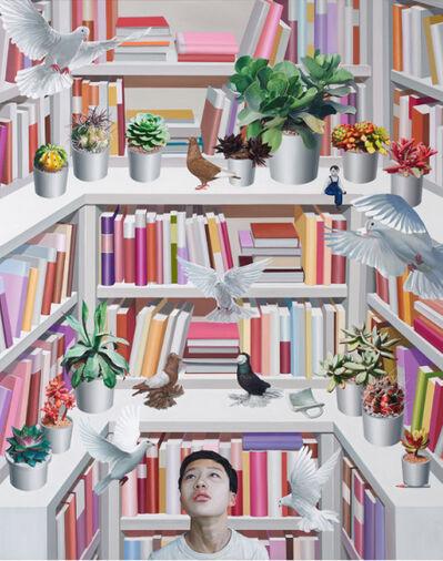 Kyoung Tack Hong, 'Library - Paradise', 2016