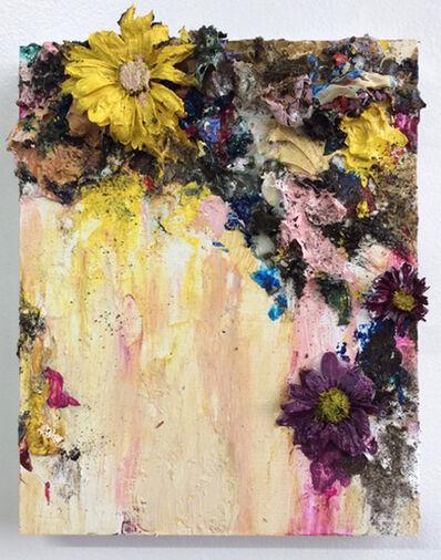 Sarah Meyers Brent, 'Floral Collage, Pink', 2018
