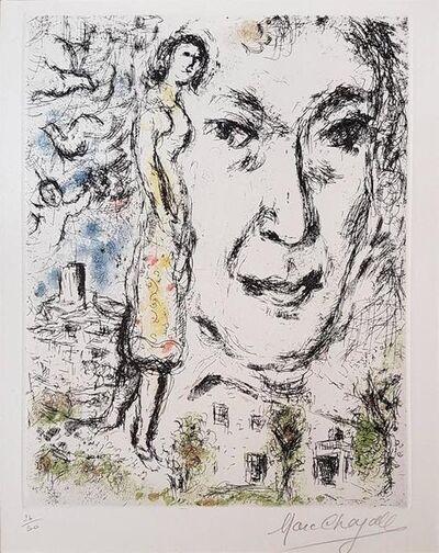 Marc Chagall, 'Autoportrait', 1968