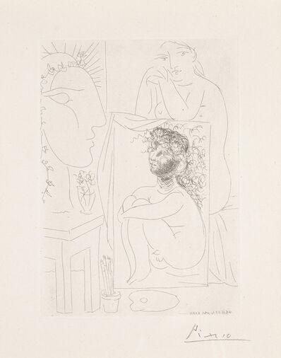 Pablo Picasso, 'Modèle, Tableau et Sculpture', March 21-1933