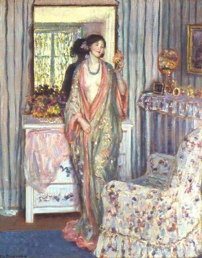 Frederick Carl Frieseke, 'The Robe ', 1915