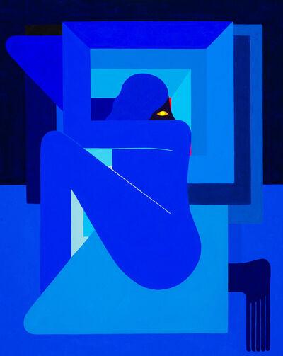 Richard Colman, '(Single Figure), Right Facing', 2018