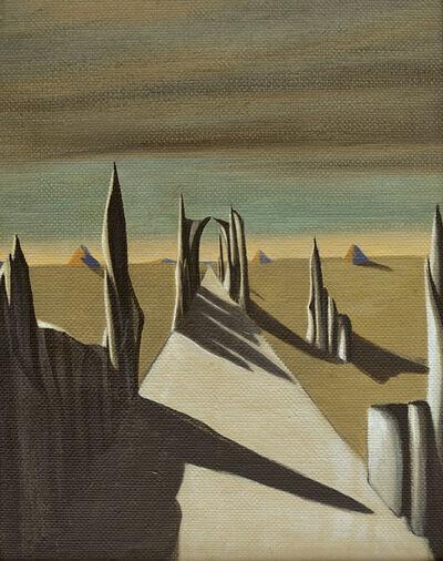 Kay Sage, 'White Silence', 1941