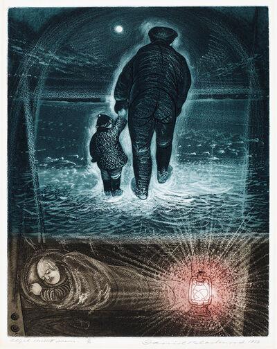 David Blackwood, 'Elijah Mullett Dreams', 1975