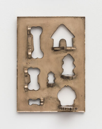 Zak Kitnick, 'The Dog Years (R & M Industries 1947 Dog Bone Cookie Cutters, Set of 7)', 2020