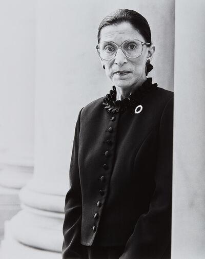 Michael O'Neill, 'Ruth Bader Ginsburg, Supreme Court, D.C., November 1', 1998