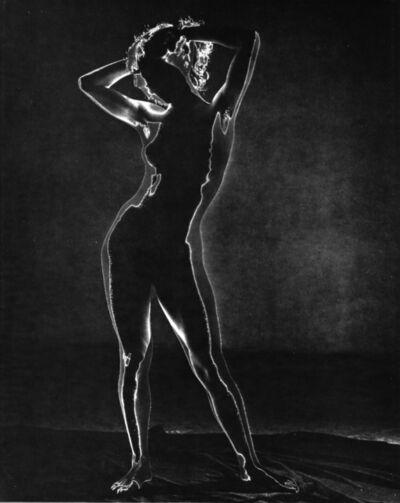 Andreas Feininger, 'Untitled (Solarized Nude)', ca. 1940