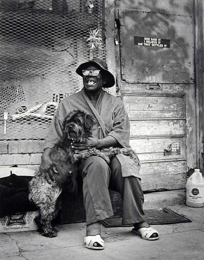 Earlie Hudnall, Jr., 'The Prophet, 3rd Ward, Houston', 1980