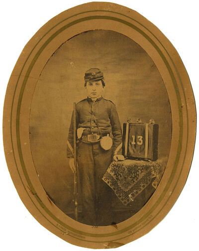 S.T. Reed, 'Young Civil War Soldier', 1860s