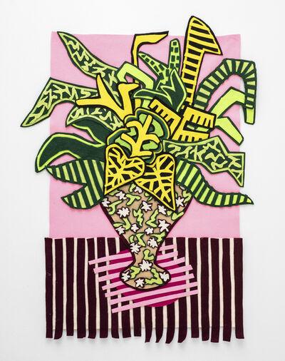 Jody Paulsen, 'Stripy Pink Arrangement', 2020