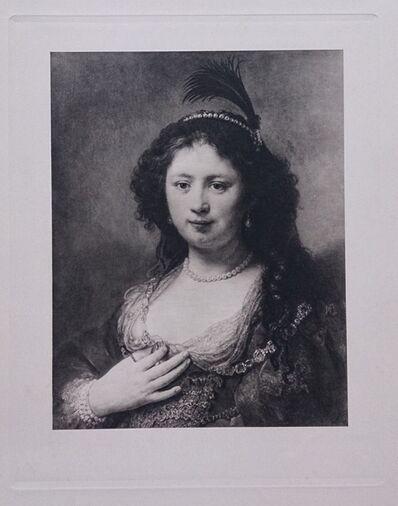 Rembrandt van Rijn, 'Portrait de femme', ca. 1910