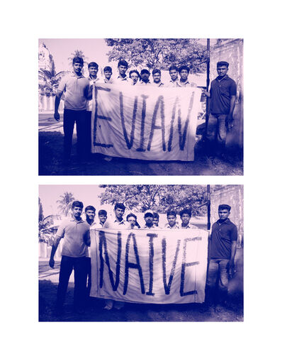 "Eileen Maxson, '""Evian is Naive Spelled Backwards (A2JCPTU1H54SZY)""', 2016"