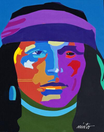 John Nieto, 'Navajo Portrait'