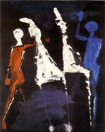 Marino Marini, 'Fram Shakespeare II, Plate VIII', 1978