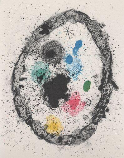 Joan Miró, 'Je travaille comme un jardinier', 1963