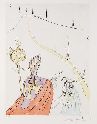 Salvador Dalí, 'L'Amour Sacre de Gala from Apres 50 Ans du Surrealisme'