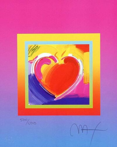 Peter Max, 'Heart on Blends II', 2005