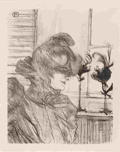 Henri de Toulouse-Lautrec, 'Madame le Margoin, Modiste (Madame le Margoin, Milliner)', 1900