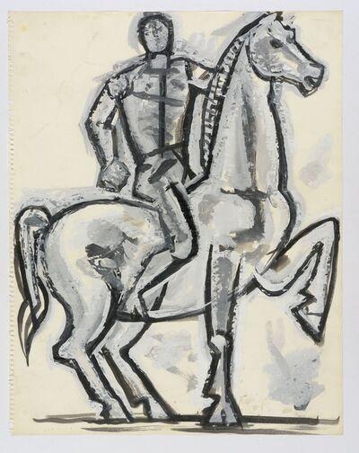 John Craxton, 'Horse and Rider', ca. 1960