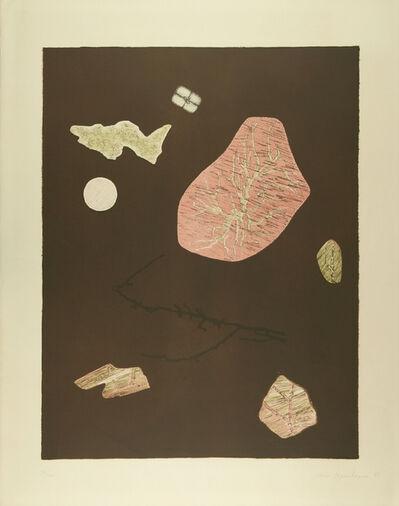 Méret Oppenheim, 'Nachthimmel mit Achaten', 1971