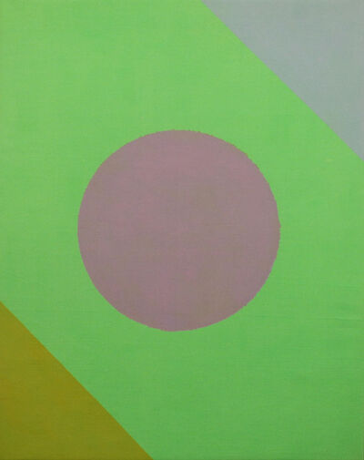 Paul Reed, 'Green Disc', 1965