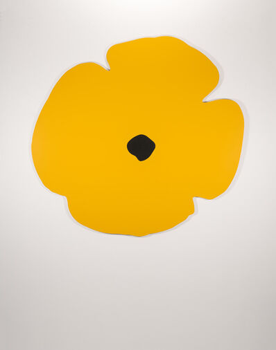 Donald Sultan, 'Wall Poppies (yellow)', 2020