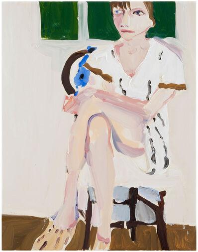 Chantal Joffe, 'Megan in Woven Shoes', 2013