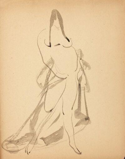 Gaston Lachaise, 'Standing Woman, Draped', ca. 1908