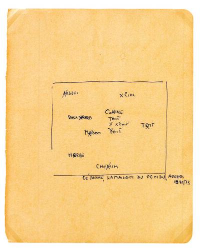 Remy Zaugg, 'Constitution d'un tableau, 27 esquisses perceptives, Gravures, 1963-1968', 1990
