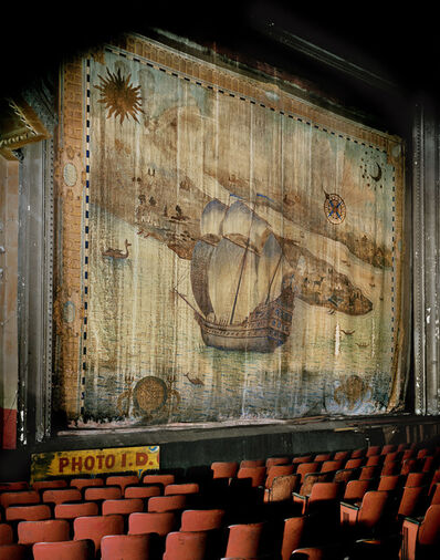 Andrew Moore, 'Fire Curtain, Liberty Theater, 42nd Street, Times Square', 1995