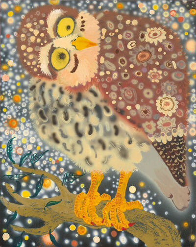 Enzhao Liu, 'Symphony of  Peace Owl in Paradise 1', 2017