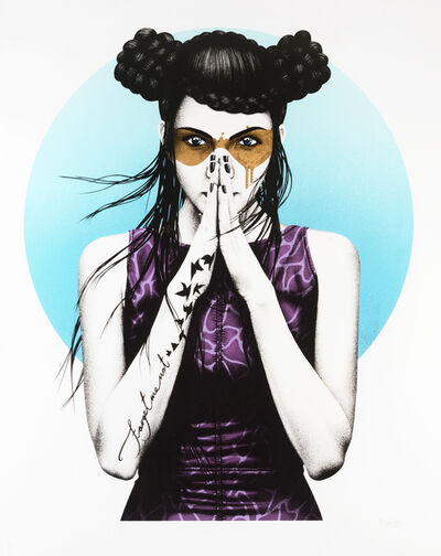 Fin Dac, 'Vergiss (24ct Gold Leaf)', 2017