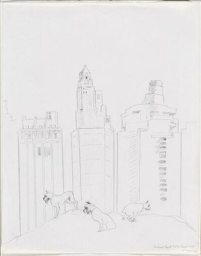 Maria Lassnig, 'Central Park N.Y. ', 1975