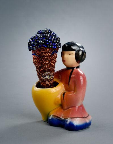 Joyce J. Scott, 'From the Still Funny Series: Asian/Negro', 2011