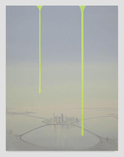 Wanda Koop, 'Dreamline (Satellite City)', 2019