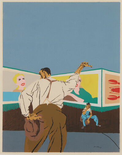Robert Gwathmey, 'The Hitchhiker', 1937