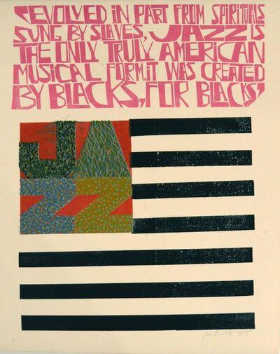 Paul Peter Piech, 'The American Musical Form', 1995