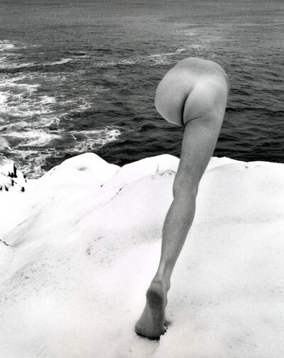 Arno Rafael Minkkinen, 'Self-portrait, Jamestown, Rhode Island', 1974