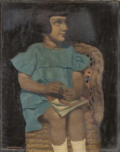 Domenico Cantatore, 'Bambina seduta', 1926